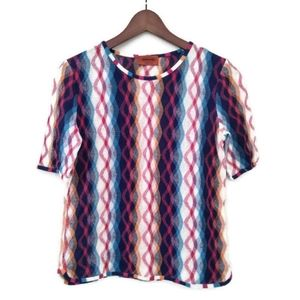 Missoni Abstract Print Top.